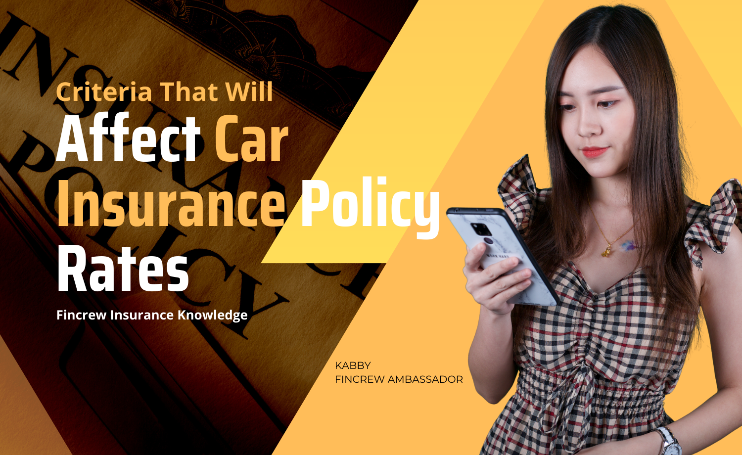 Criteria That Will Affect Car Insurance Policy Rates Blog Featured Image