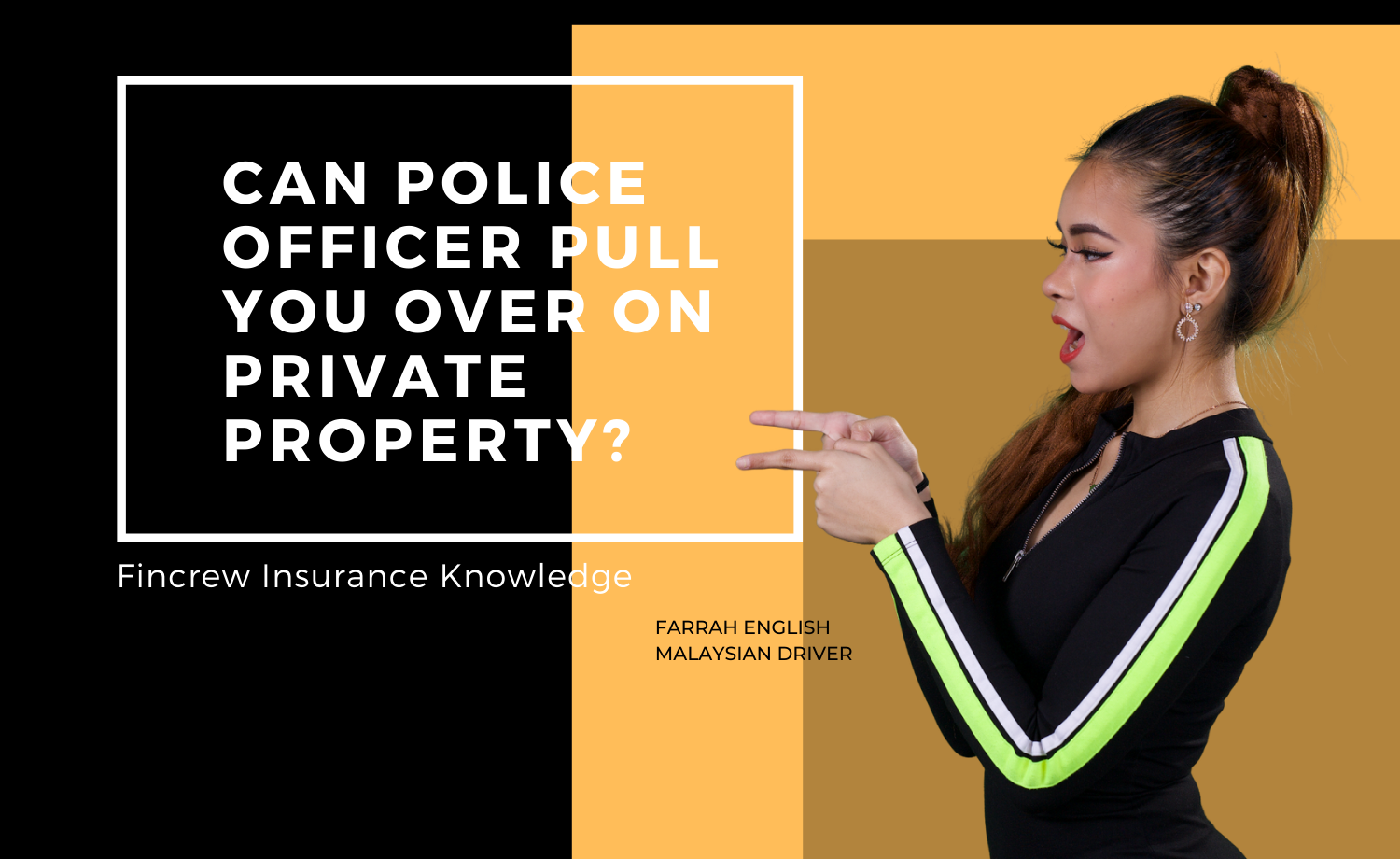 Can Police Officer Pull You Over On Private Property Blog Featured Image