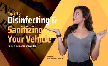 Disinfecting & Sanitizing Your Vehicle Blog Featured Image