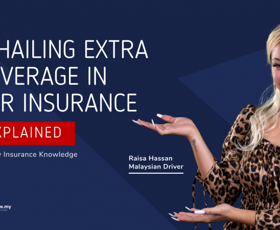 E-Hailing Extra Coverage In Car Insurance Blog Featured Image